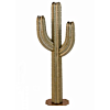 Outdoor Metal Saguaro Cactus Torch - 5 ft.