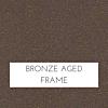 Bronzed Aged Frame