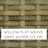Willow Grey Wicker