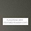 Flagstone Gray Textured Powder Coat Marine Polymer Frame Finish
