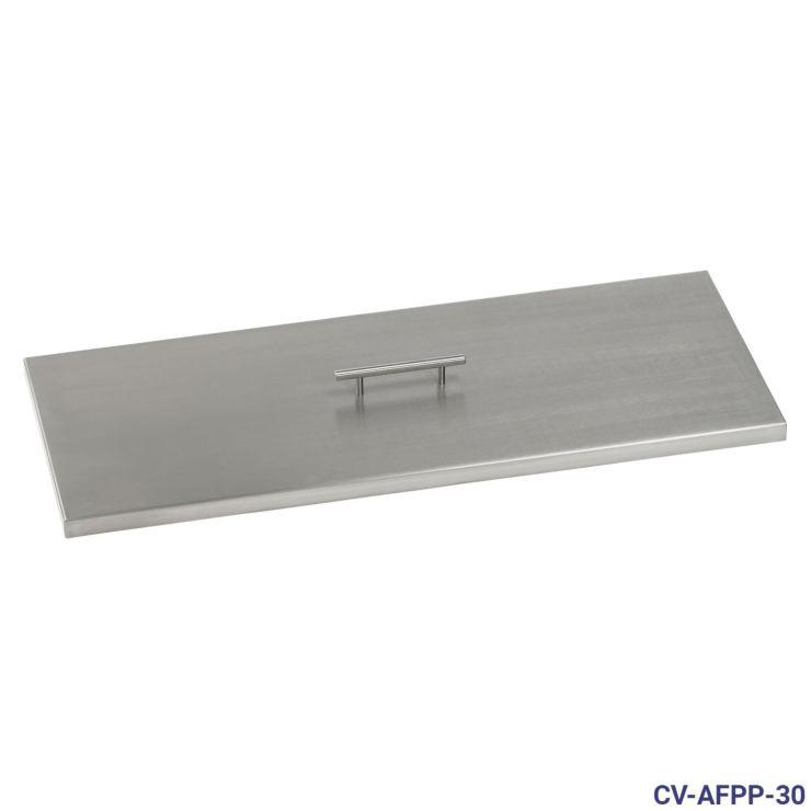 Stainless Steel Rectangular Burner Pan Cover