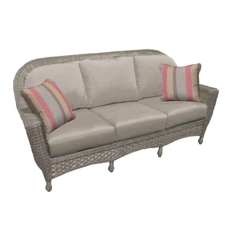 Georgetown Wicker Sofa