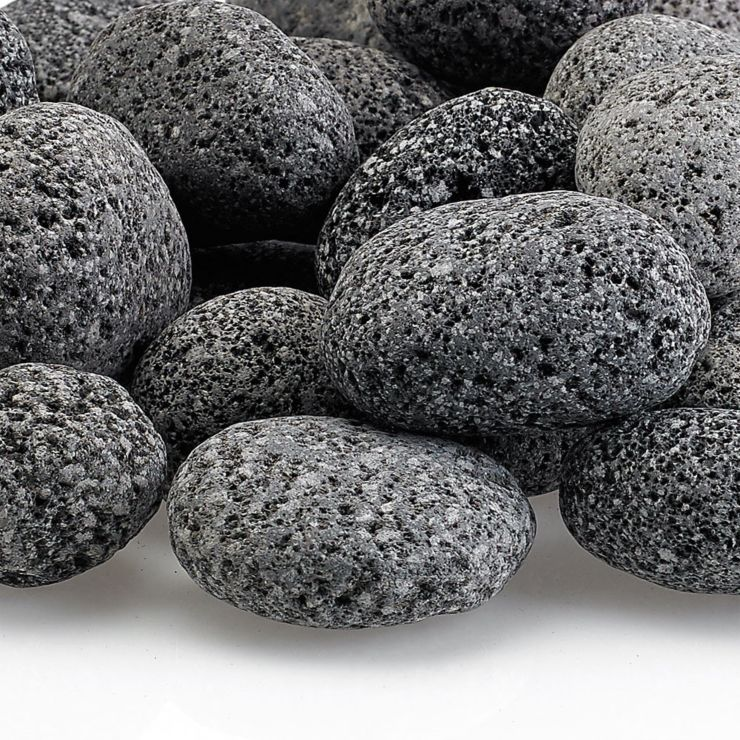 Small Gray Lava Rock - 55 LB Bag