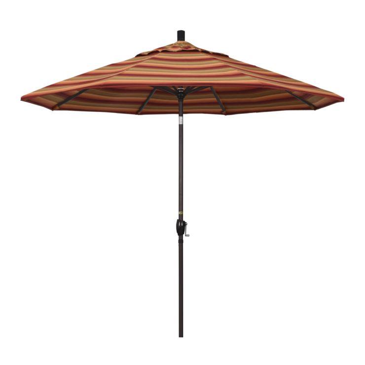 9' Market Style Outdoor Umbrella with Wind Vent Astoria Sunset