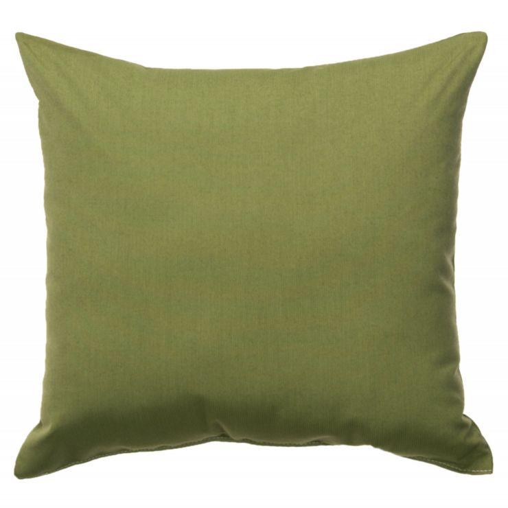 Spectrum Cilantro Sunbrella Throw Pillow