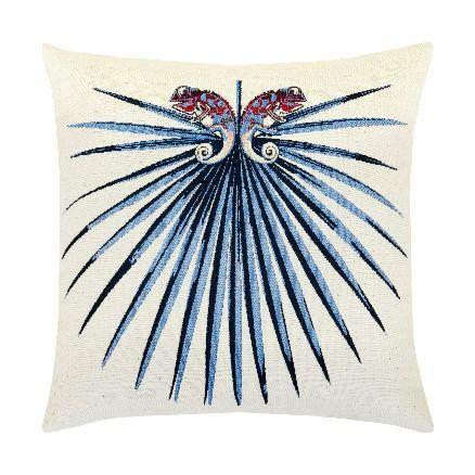 Elaine Smith Outdoor Chameleon Capri Pillow
