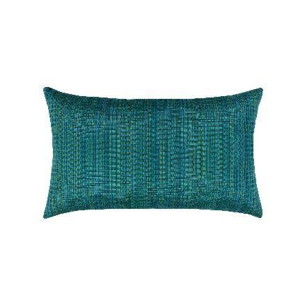 Elaine Smith Outdoor Eden Texture Lumbar Pillow