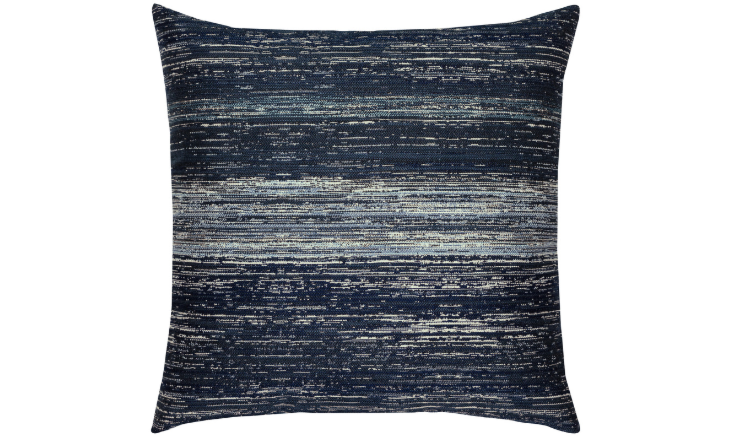 Elaine Smith Outdoor Textured Indigo Pillow