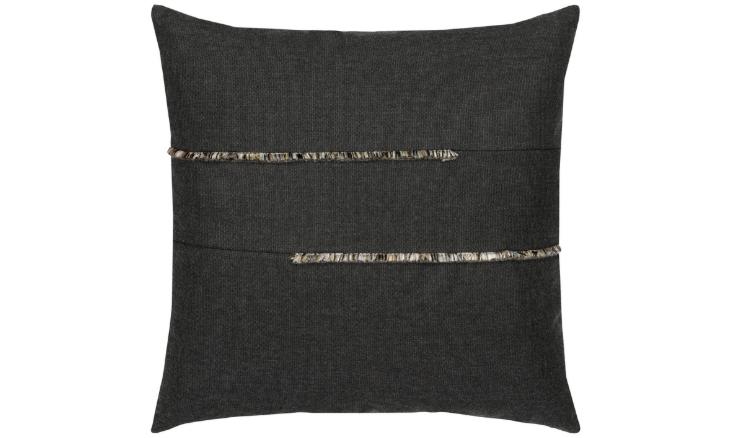 Elaine Smith Outdoor Micro Fringe Carbon Pillow