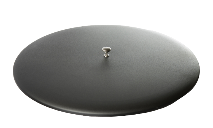 Oriflamme Metal Fire Table Lid in Black
