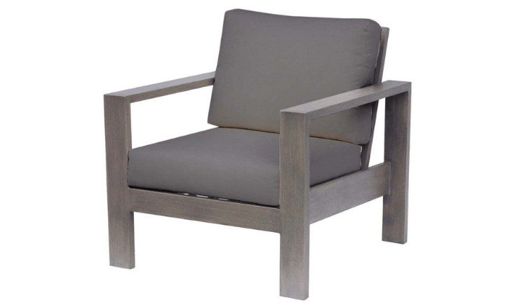 Park Lane Club Chair by Ratana - Cast Slate