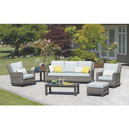 Boston Wicker 5pc Furniture Set
