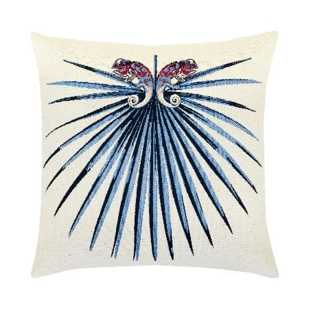 Elaine Smith Outdoor Chameleon Capri Pillow