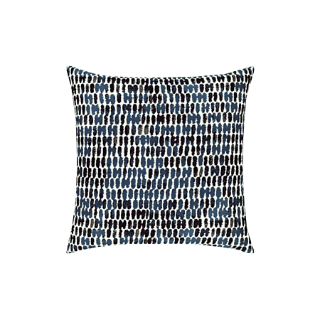 Thumbprint Indigo Pillow