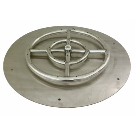 Round Flat Pan for Fire Pit