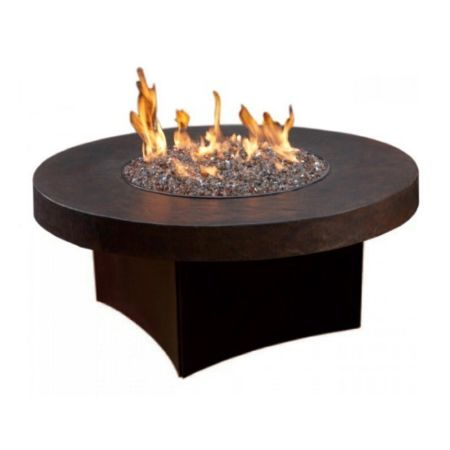 Oriflamme Gas Fire Pit Table Savanna Stone