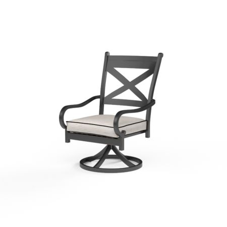 Sunset West Monterey Swivel Rocking Dining Chair