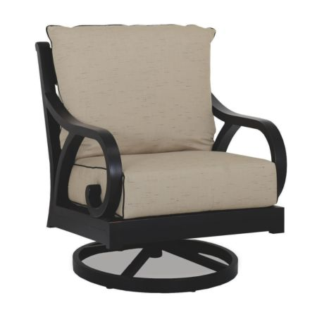 Sunset West Monterey Swivel Rocking Club Chair