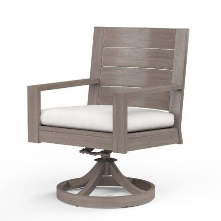 Sunset West Laguna Swivel Dining Chair