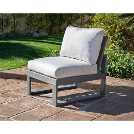 POLYWOOD Edge Modular Armless Chair