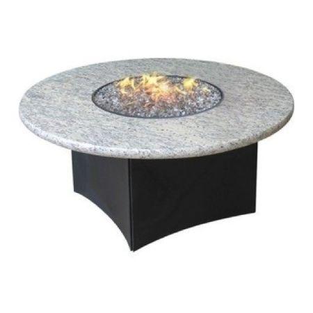 Oriflamme Gas Fire Pit Table Optima Giallo Santo