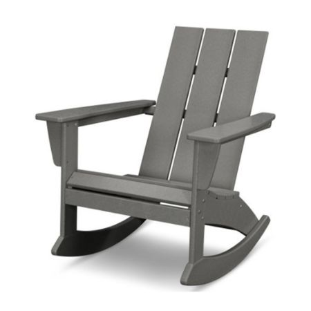 POLYWOOD Modern Adirondack Rocking Chair