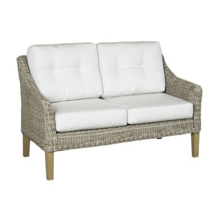 Cambria Wicker LoveSeat