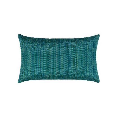 Elaine Smith Outdoor Eden Texture Lumbar Pillow