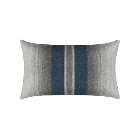 Elaine Smith Outdoor Ombre Indigo Lumbar Pillow
