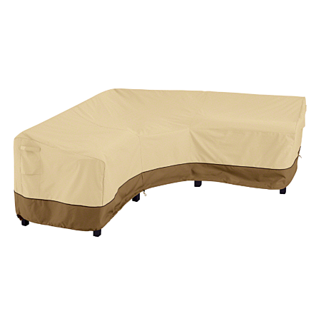Outdoor V Shaped Sectional Cover