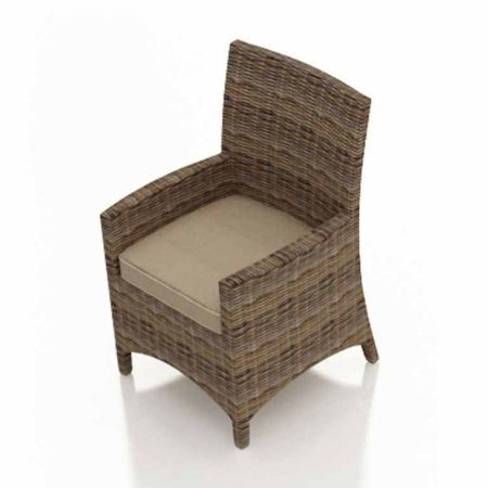 Bainbridge Dining Chair with Arms Replacement Cushion