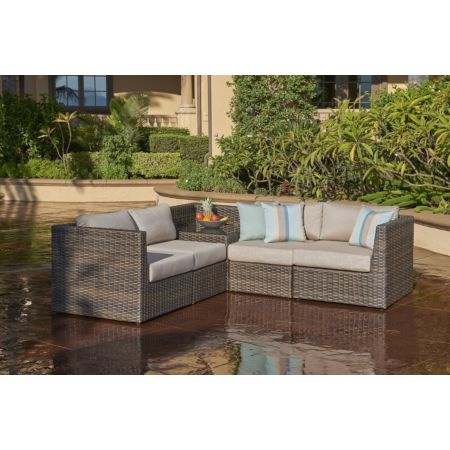 5 Piece Bellanova L Sectional