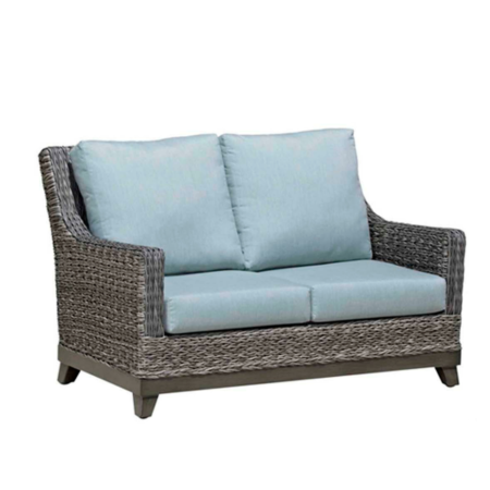 Boston Wicker Love Seat