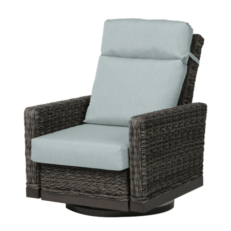 Ratana Boston Swivel Recliner in Cast Mist