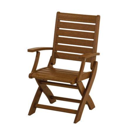 Polywood Signature Folding Chair Recycled Plastic
