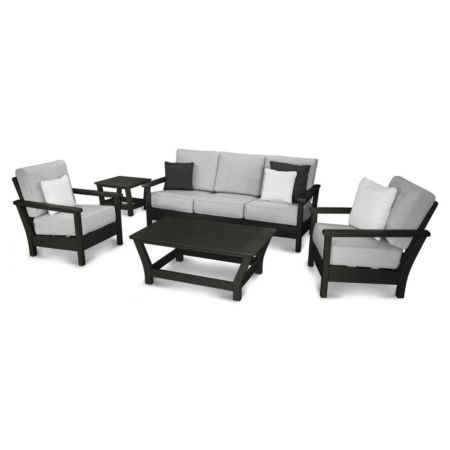 Polywood Harbour 5-Piece Deep Seating Set