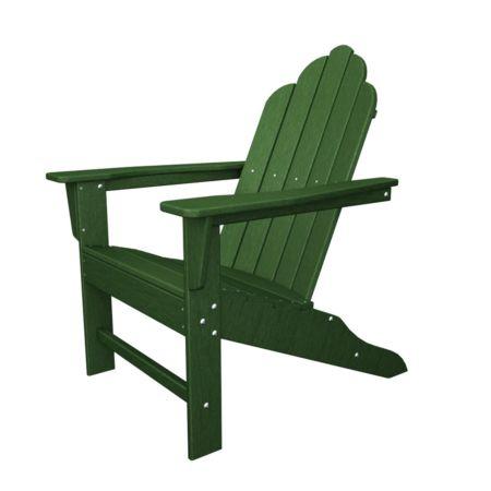 Polywood Long Island Recycled Plastic Adirondack Chair