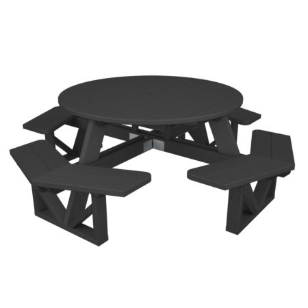 Polywood Recycled Plastic Octagon Picnic Table 53""