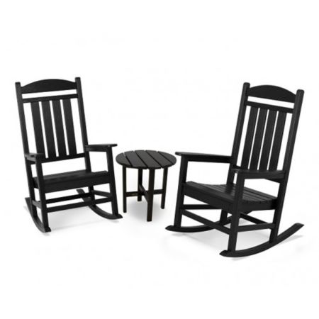 Polywood Presidential 3-Piece Rocker Set