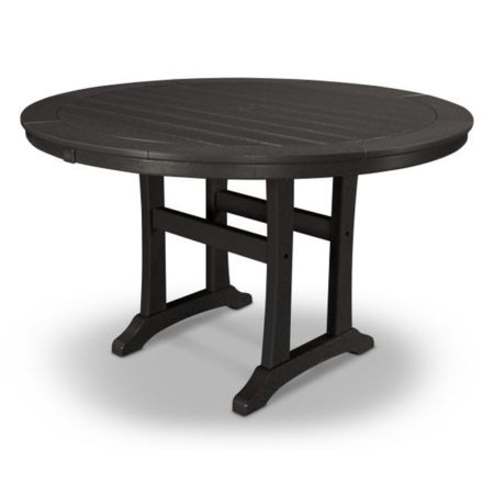 """Polywood Nautical Round 48"""" Dining Table"""