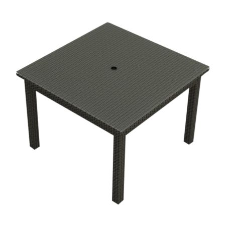 "Cabo Wicker 48"" Square Dining Table"