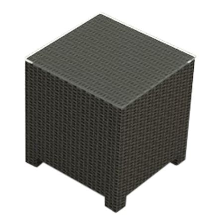 Cabo Wicker End Table