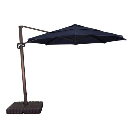 Canvas Navy 365 Degree Umbrella