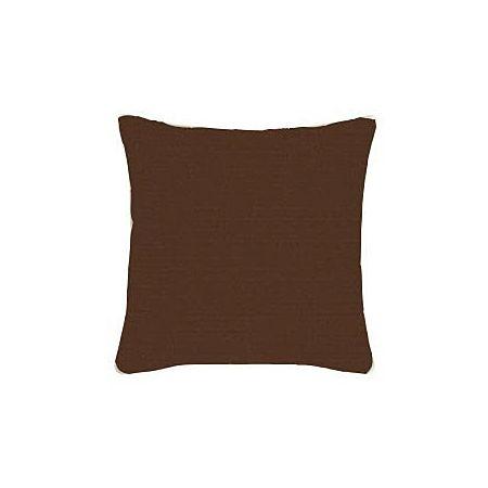 Canvas Bay Brown Sunbrella Throw Pillow