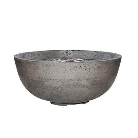 Prism Pewter Moderno 1 Concrete Fire Bowl