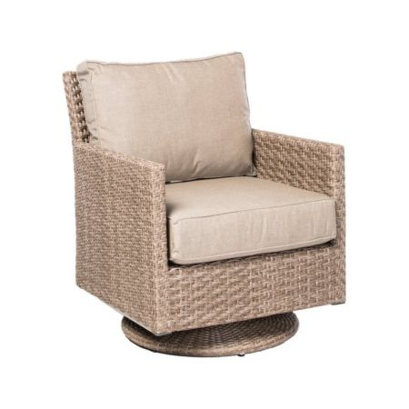 Cornwall Outdoor Deep Seating Swivel Glider