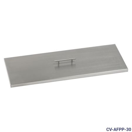 Stainless Steel Rectangular Burner Pan Cover