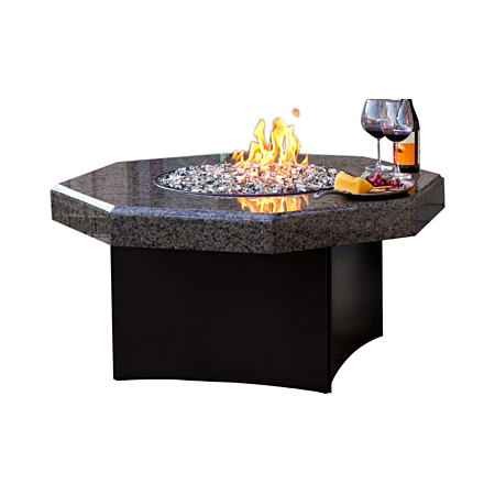 Tropical Brown Granite Fire Table