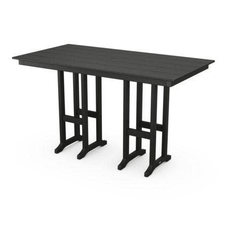 """Polywood Farmhouse 37"""" X 72"""" Bar Table"""
