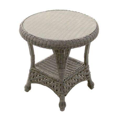 Georgetown wicker end table